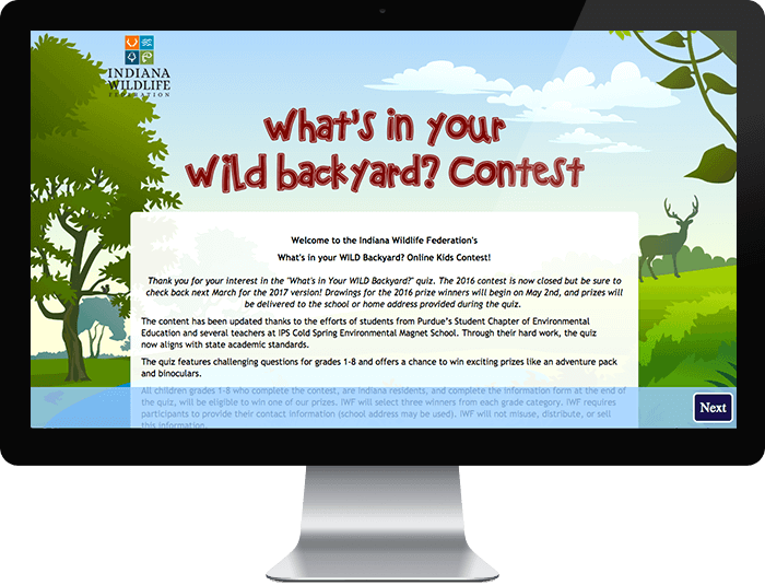 Indiana Wildlife Federation – What's in your wild backyard?